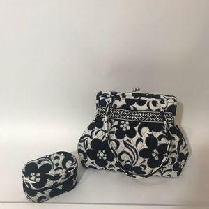 Vera Bradley Day Nite Bag w cosmetic Case